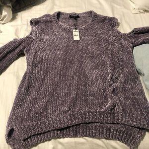 express velvet sweater